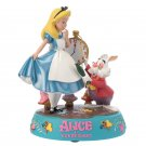 Disney Store JAPAN Alice in Wonderland 2018 Alice & white rabbit figure ornament