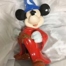 Disney Fantasia Mickey Big Size Figure Piggy Bank The Sorcerer's Apprentice