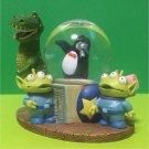 Disney Toy Story Snow globe Alien Snow Dome Little Green Men Figure doll