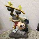 Walt Disney World Mickey Bobblehead figure skateboard ornament Doll