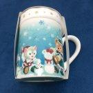 Tokyo Disney Land Christmas 2014 Duffy & Friends Mug Cup Gelatoni TDR