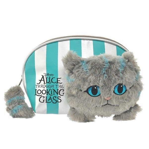 Disney Store Japan Alice Cheshire Cat Accessory pouch Cosmetic case bag