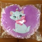 Disney Arist cat Marie Embroidery Heart cushion ribbon purple