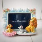 Tokyo Disney Resort Lady and the Tramp 3D figure Photo frame stand Ornament TDL