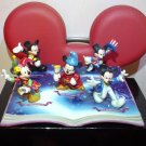 Tokyo Disney Land 20th Anniversary Mickey Mouse Figure Grand Open Costume Doll T