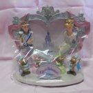 Tokyo Disney Land 21th 2005 Cinderella braided photo stand frame 3D Figure