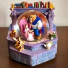 Disney Beauty and the Beast with Bell Music Box Snow Globe Snow Dome Figure doll