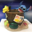 Disney Store Japan Stitch Multi Case Accessory tub Figure Ornament Jewelry box