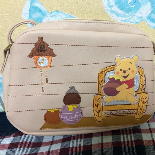 Disney Store Japan Winnie the Pooh shoulder bag pocket Honey hunt