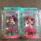 Tokyo Disney Resort 2011 Easter Wonderland Mickey & Minnie Mouse Figure set