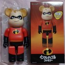 Disney Store Tokyo Incredibles Medicom Toy  400% Bear brick BE@RBRICK