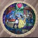Disney Beauty and the Beast Round Rug Mat Towel Bell Summer thin mat Japan FS