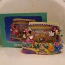 Tokyo DisneyLand 2011 Easter Wonderland Photo Frame Mickey & Minnie Figure Stand