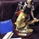 Disney Armani FLOREOCE Snow White Figure Doll Florence Sculpture Stamp