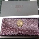 Tokyo Disney Resort Limited ANNA SUI Minnie Mouse & Daisy Long Wallet 35th Anni