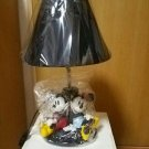 Disney Store Mickey & Minnie Mouse Bindage Figure Light Stand Lamp LED