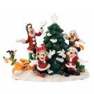 Disney Store JAPAN 2018 Mickey & Friends Christmas tree and tree ornament
