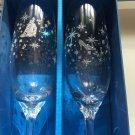 Disney afternoon tea cinderella pair glass set slippers