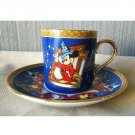 Tokyo Disneyland Fantasia Sorcerer Mickey Mouse Cup & Saucer Set TDR