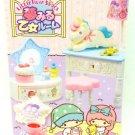 Re-ment Miniature Little Twin Stars Maiden Dream Room Full Set of 8 Kikilala