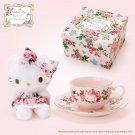 Gift Hello Kitty meets LAURA ASHLEY Tea cup set & mascot Doll Rosa Plush doll