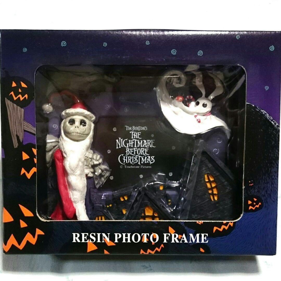 Jun Planning Nightmare Before Christmas Santa Jack Halloween Photo Frame Stand