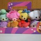 Disney TUMU TUMU Alice in wonder land Uni Bear 8 plucsh doll set with box