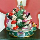 Tokyo Disney Land 2002 Christmas Fantasy Mickey Minnie Goofy Figure Doll Tree