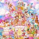 Disney Pure White Art Mickey Sweet Kingdam Jigsaw Puzzle 1000 Pieces Japan Tenyo