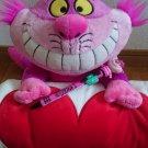 Tokyo Disney Land Alice in wonderland Chisel cat Plush Doll ruck with blanket
