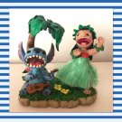 Extremely rare Lilo and Stitch Head swing doll figure  with ukulele hula dance