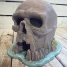 Qi194 1990 VINTAGE Disney PETER PAN SKULL ROCK COIN BANK Figure Extremely rare