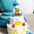"Tokyo Disney Land Donald ""Happy Birthday to Me"" Popcorn bucket Birthday cake"