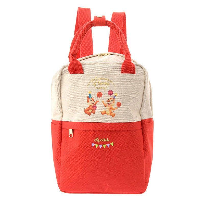 Disney Store Japan Hello Chip and Dale Berry Ryucksack Backpack shoulder bag