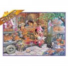 Disney Jigsaw Puzzle Last One Piece Jigsaw Puzzle Morning bakery shop Minnie
