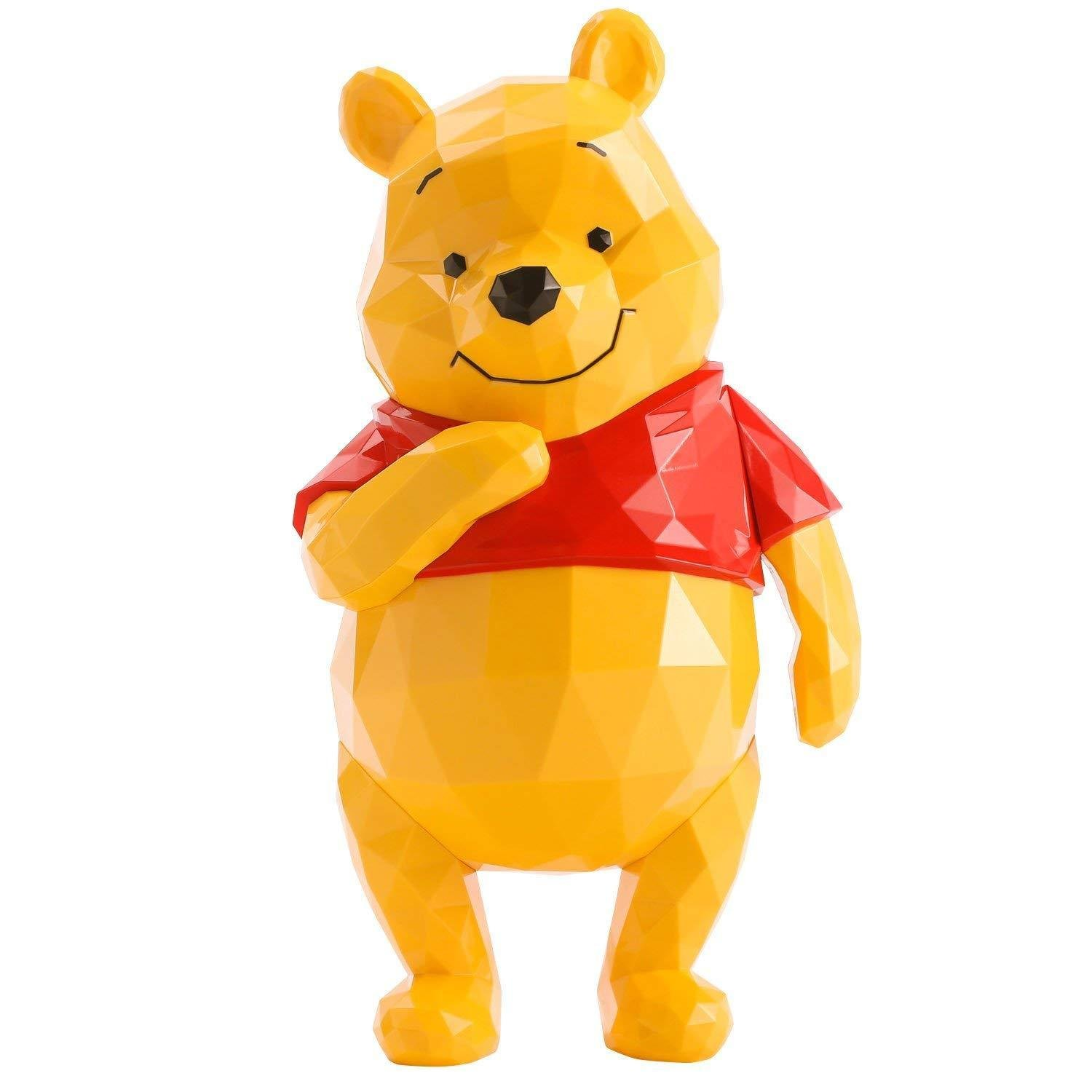 POLYGO Stitch Winnie the pooh Non Scale ABS Painted Figure Ornament Doll