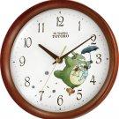My Neighbor Totoro Wall Clock Character Analog M27 Tree Brown Half Glossy Finish