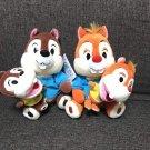 Tokyo Disneyland Super Duper Jumpin Time Chip & Dale Plush Puppet Doll TDR FS