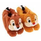 Disney Store JAPAN Chip and Dale Moco Moco Room shoes Pluch shoes