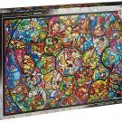 Disney All Star 1000 Piece Jigsaw Puzzle Stained art 51.2x73.7cm