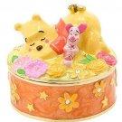 Disney Store Japan Winnie the Pooh Figure Jewelry Case Piglet Accessory Box