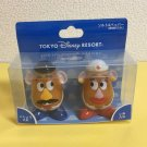 Tokyo Disney Resort Mr & Mrs Potato Head Salt & Pepper Seasoning Pocket
