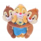 Disney Store Japan Plush Doll Chip & Dale Claris Hug & Smile Docking Doll