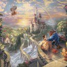 TEN-D2000-624 Beauty and the Beast Falling in Love  2000 piece Thomas Kinkade