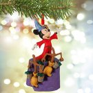 Disney Store Japan Mickey Mouse Fantasia Sorcerer Figure Ornament Christmas Doll