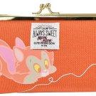 Disney Delfino Famous Pen Case Seal Pouch Mini Wallet Figaro Canvas Gamaguchi