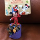 Disney Store Japan Mickey Mouse Fantasia Witch ornament Figures Doll Chrithmas