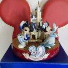Tokyo Disneyland 20th Cinderella Castle Ornament Mickey Minnie Mouse figure doll