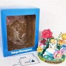 2004 Tokyo Disneyland Alice in Wonderland Figure Clock Golden Afternoonornament