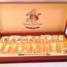 Disney Winnie The Pooh Cloisonne Gold plating 13 Spoon & fork cutlery set Japan